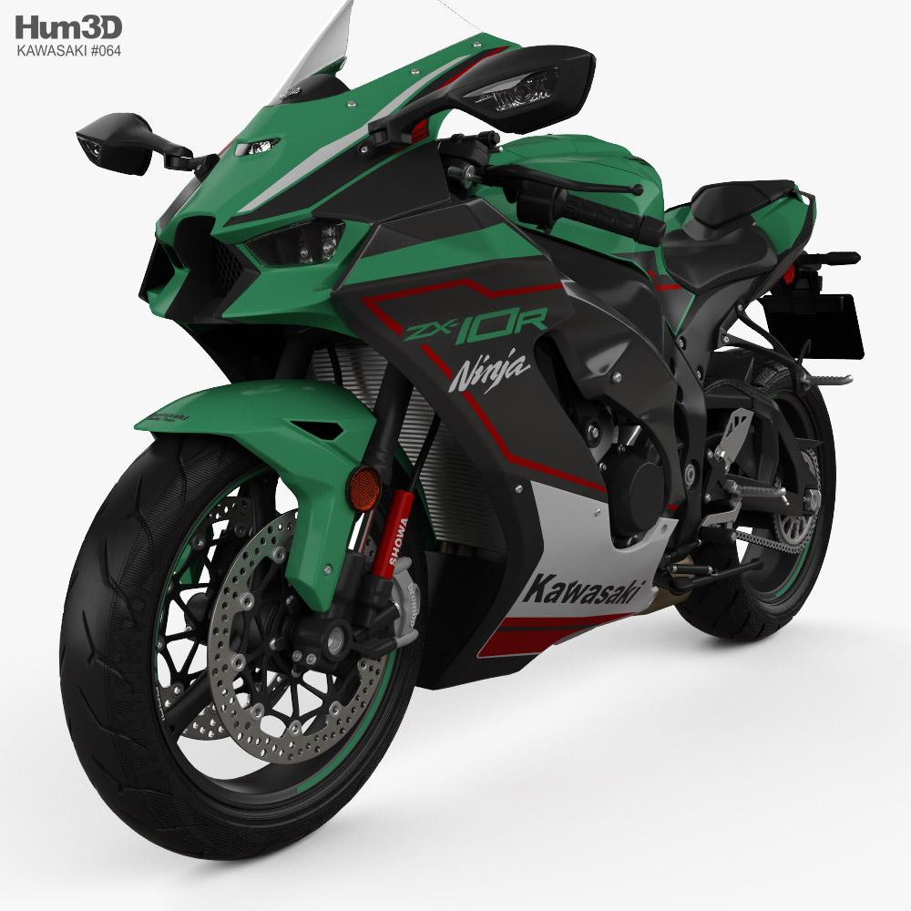 Kawasaki ZX-10R 2021 Modelo 3D
