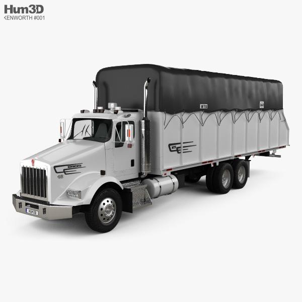 Kenworth T800 Cotton Truck 2011 3D model