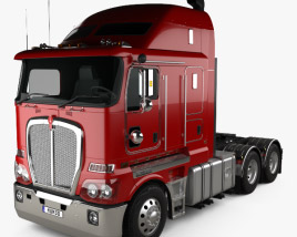 3D model of Kenworth K200 Tractor Truck 2010