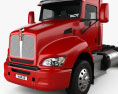 Kenworth T440 Chassis Truck 3-axle 2009 3d model