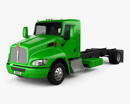 Kenworth T270 Chassis Truck 2009 3D model