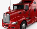 Kenworth T660 Tractor Truck 2008 3d model
