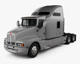 3D model of Kenworth T600 Tractor Truck 2007