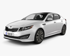 3D model of Kia Optima (K5) 2011