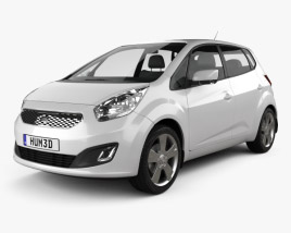 3D model of Kia Venga 2011