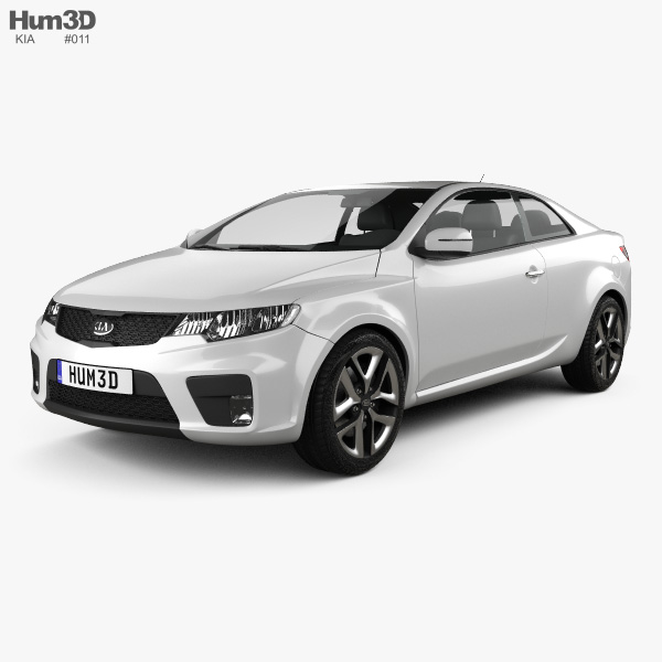 Kia Forte (Cerato, Naza) Coupe 2012 3D model