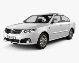 3D model of Kia Optima (Magentis) 2010