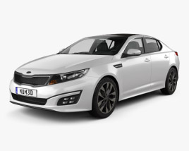 3D model of Kia Optima 2015