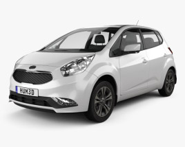 3D model of Kia Venga 2015