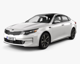 3D model of Kia K5 MX 2016