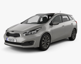3D model of Kia Ceed SW EcoDynamics 2015