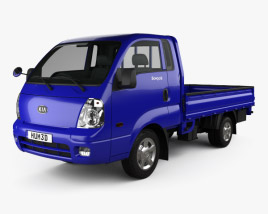 3D model of Kia Bongo (PU) Pickup 2004