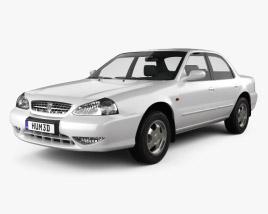 3D model of Kia Clarus 1998
