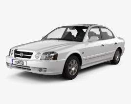 3D model of Kia Magentis 2002