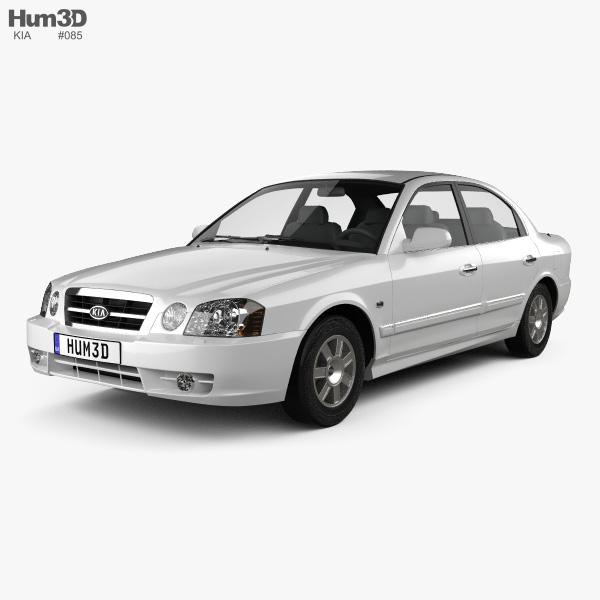 Kia Magentis 2002 3D model