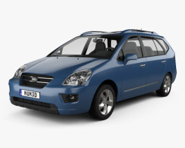 3D model of Kia Carens 2006