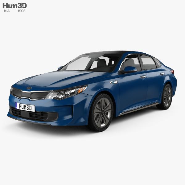 Kia Optima Hybrid 2017 3D model