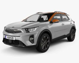3D model of Kia Stonic 2018
