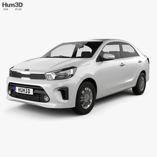 Kia Pegas 2018 3D model