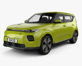 3D model of Kia Soul EV 2019