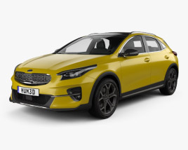 3D model of Kia XCeed 2019