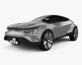 3D model of Kia Futuron 2019