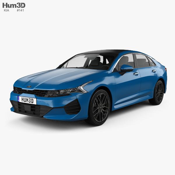 Kia K5 2020 3D model