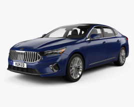 3D model of Kia Cadenza US-spec 2020