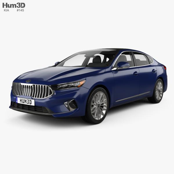 Kia Cadenza US-spec 2020 3D model