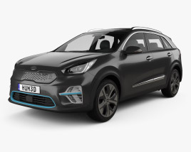 3D model of Kia Niro e 2019