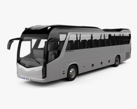 3D model of Kia Granbird Bus 2021