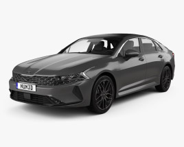Kia K5 GT-line CN-spec 2019 3D model