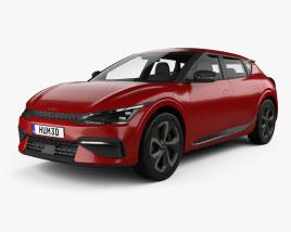 Kia EV6 GT-Line 2022 3D model