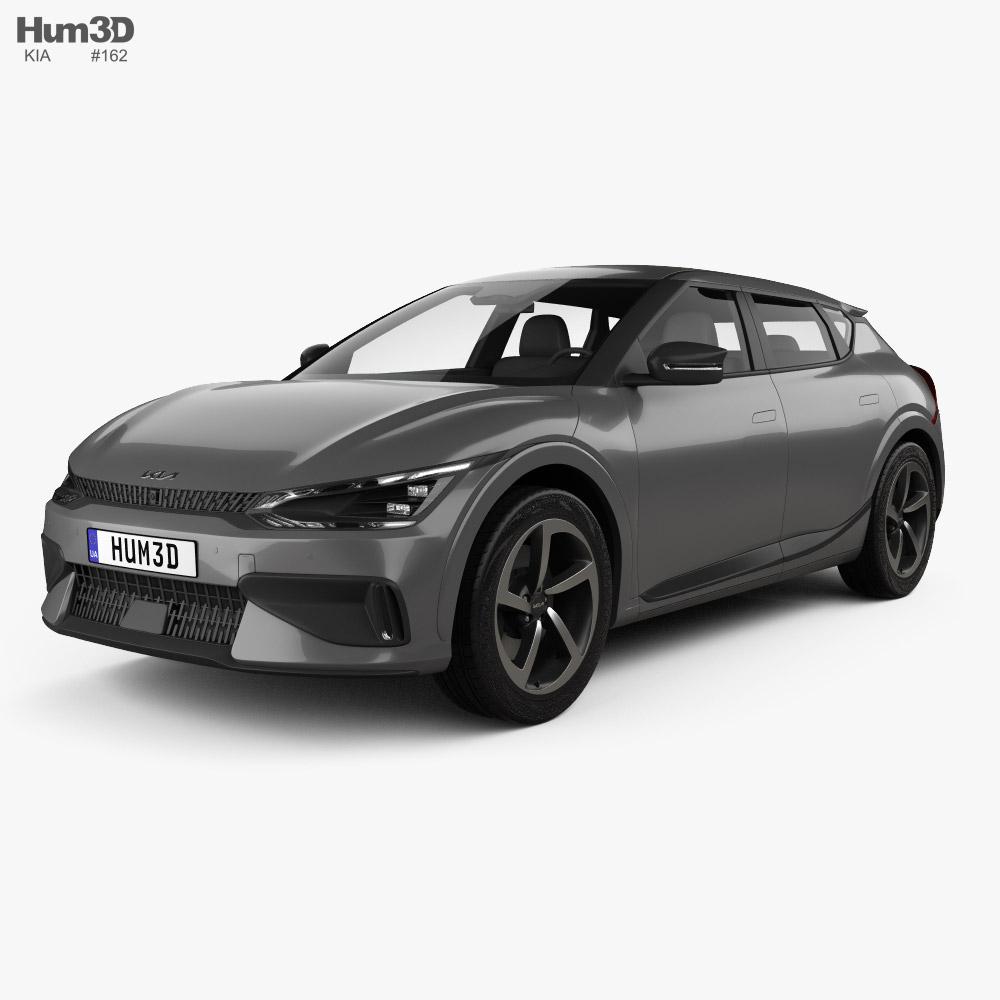 Kia EV6 GT 2022 3d model