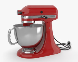 3D model of KitchenAid Mixer