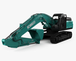 3D model of Kobelco SK300LC 2020