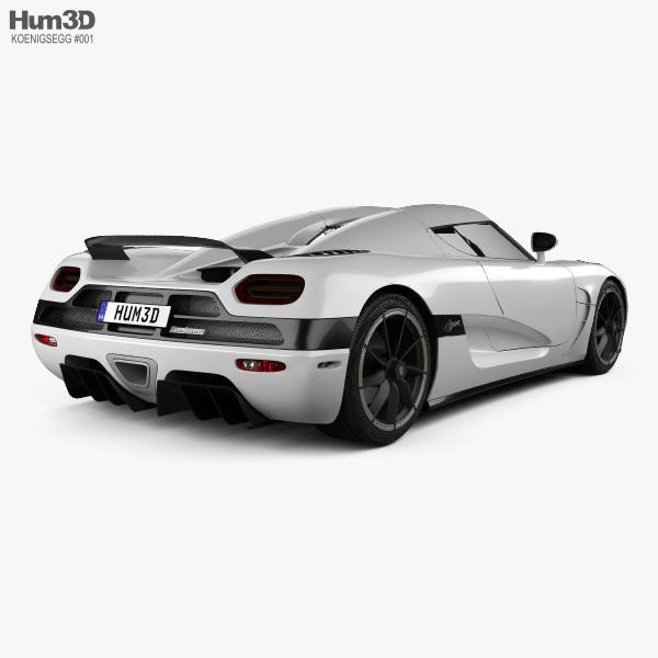 Koenigsegg Agera 2011 3D model