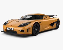 3D model of Koenigsegg CCXR 2007
