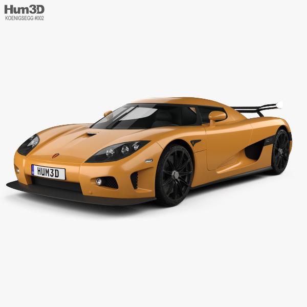Koenigsegg CCXR 2007 3D model