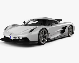 3D model of Koenigsegg Jesko Absolut 2020