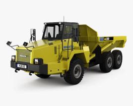 3D model of Komatsu HM250 Dump Truck 2008