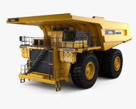 3D model of Komatsu 960E Dump Truck 2008