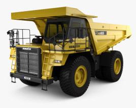 3D model of Komatsu HD605 Dump Truck 1998