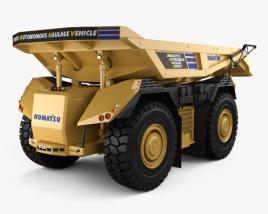 3D model of Komatsu AHS Dump Truck 2016