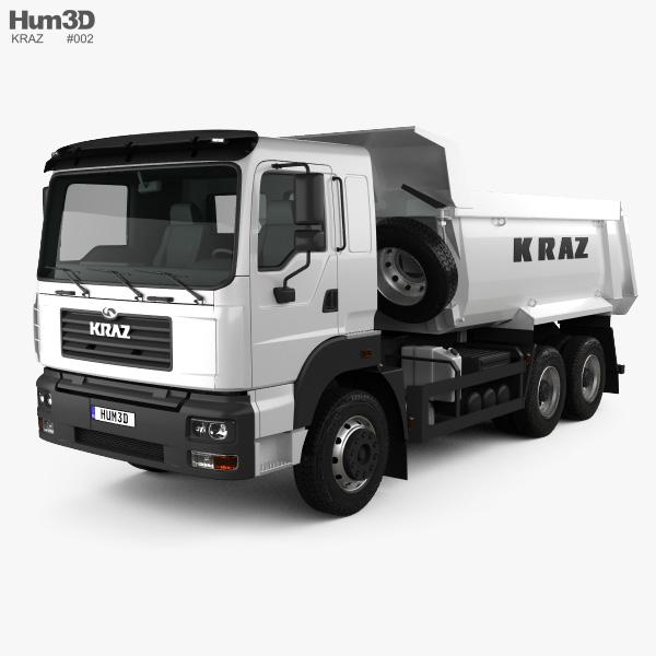 KrAZ C26.2M 自卸式卡车 2013 3D模型