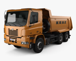 3D model of KrAZ C20.2 Dumper Truck 2011