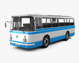 3D model of LAZ 695N Bus 1976