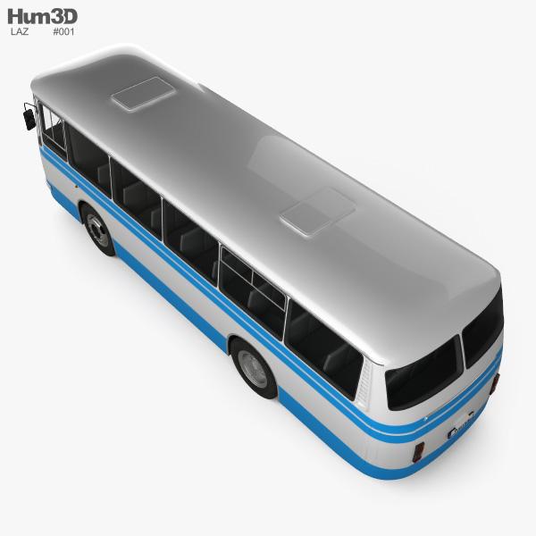 LAZ 695N Bus 1976 3D model