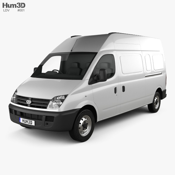 3D model of LDV Maxus Panel Van 2004