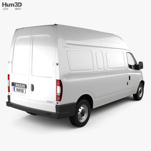 LDV Maxus Panel Van 2004 3D model
